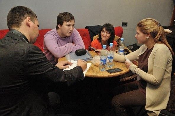 Дмитрий Мосьпан, Виктор Радзиевский, Наталья Скворцова и автор